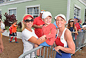 DELRAY BEACH, FL - NOVEMBER 23: Chris Evert signs autographs during the 30TH Annual Chris Evert Pro-Celebrity Tennis Classic - Day 2 at the Delray Beach Tennis Center on November 23, 2019 in Delray Beach, Florida.  ( Photo by Johnny Louis / jlnphotography.com )