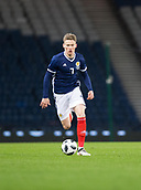 23rd March 2018, Hampden Park, Glasgow, Scotland; International Football Friendly, Scotland versus Costa Rica; Scott McTominay made his debut for Scotland