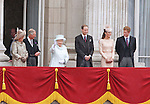 """THE CHANGING FACE OF THE BRITISH MONARCHY.Seen for the first time together on the balcony of Buckingham Palace for the Finale of the 4 day Diamond Jubilee Celebration is what will be the newer streamlined Royal unit of members of the Family..It will consists of The Queen, Duke of Edinburgh (who was hospitalised), Prince Charles, Camilla, Prince William, Catherine and Prince Harry_London_05/06/2012.Mandatory Credit Photo: ©SB/NEWSPIX INTERNATIONAL..**ALL FEES PAYABLE TO: """"NEWSPIX INTERNATIONAL""""**..IMMEDIATE CONFIRMATION OF USAGE REQUIRED:.Newspix International, 31 Chinnery Hill, Bishop's Stortford, ENGLAND CM23 3PS.Tel:+441279 324672  ; Fax: +441279656877.Mobile:  07775681153.e-mail: info@newspixinternational.co.uk"""
