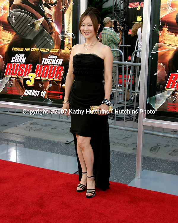 "Youki Kudoh.""Rush Hour 3"" Premiere.Grauman's Chinese.Los Angeles, CA.July 30, 2007.©2007 Kathy Hutchins / Hutchins Photo...."