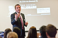 The keynote speaker Kevin Green explains how he made his millions