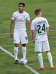 12.07.2017, Sportplatz, Zell am Ziller, AUT, TL Werder Bremen 2017 - FSP Werder Bremen (GER) vs Wolverhampton Wanderers (ENG), <br /> <br /> im Bild<br /> Yuning Zhang (Neuzugang SV Werder Bremen #19)<br /> Johannes Eggestein (Werder Bremen #24)<br /> <br /> Foto &copy; nordphoto / Kokenge