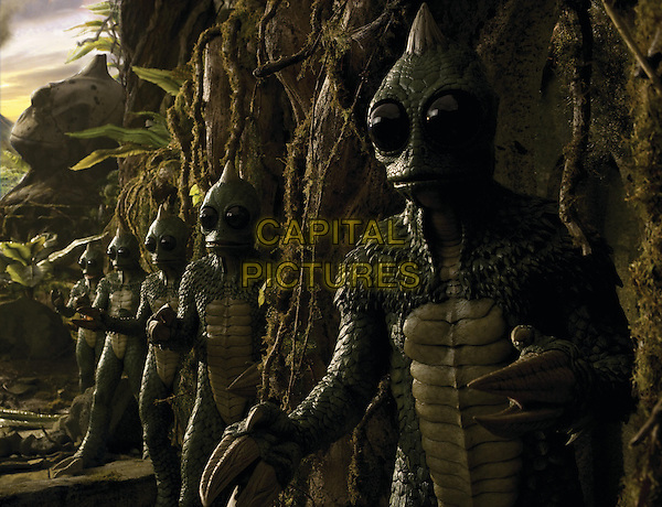 SCENE - The Sleestak.in Land of the Lost.*Filmstill - Editorial Use Only*.CAP/FB.Supplied by Capital Pictures.