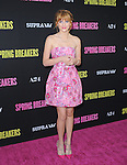 at The L.A. Premiere of Spring Breakers held at The Arclight Theater in Hollywood, California on March 14,2013                                                                   Copyright 2013 Hollywood Press Agency