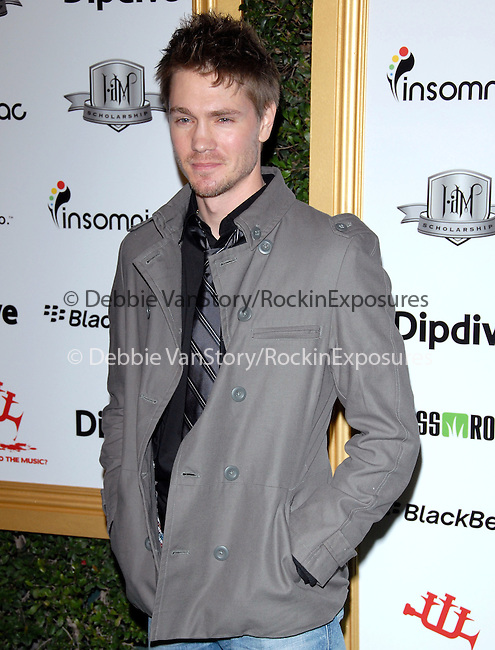 Chad Michael Murray at The First Annual Data Awards, presented by will.i.am, The Black Eyed Peas & Dipdive held at The Hollywood Palladium in Hollywood, California on January 28,2010                                                                   Copyright 2009  DVS / RockinExposures