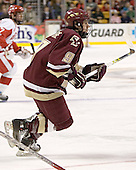 (David Van der Gulik) Nathan Gerbe - The Boston University Terriers defeated the Boston College Eagles 2-1 in overtime in the March 18, 2006 Hockey East Final at the TD Banknorth Garden in Boston, MA.