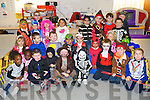 TRICK R TREAT: Junior Infant class at Tralee CBS who dressed up for Halloween on Friday front l-r: Bridget Akintope, Lizzie Ojulope, Niall Garvey, Dylan Roome, Jack Trant, Padraig O'Sullivan, Cian Brosnan, Enda Cahill and Sean Kederski. Middle l-r: Adelina Kastrati, Daniel Henrikkson, Lochlann Crawford-Tuohy, Swithin Pais, David Jabynski, Polroy Pal, Varonica Pacuska and Christina Ginova. Back l-r: Siu?n McGillycuddy, Conor Bradshaw, Mark Curtin, Hayley Lynch, Ramona Ranisjevic, Seyem Rahman, Denis Moriarty, Jude Carty, Darragh Mc Evoy and Isaac Negru.   Copyright Kerry's Eye 2008