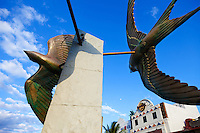 Harbor sculpture, Cozumel, Mexico.<br /> <br /> Canon EOS 5D Mk II, 24-105L lens