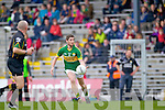 Killian Young in action against Waterford last Saturday in Fitzgerald Stadium for the Munster GAA football championship