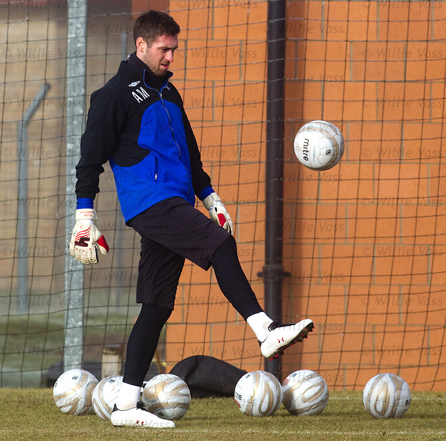 Allan McGregor at training