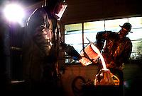 Creative Connect John Tuomisto-Bell's studio Nov, 10, 2009, ©Rick D'Elia