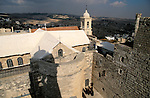 Bethlehem, the Church of the Nativity as seen from the bell tower&#xA;<br />