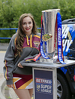 Picture by Chris Mangnall/SWpix.com - 14/07/2017 - Rugby League - Betfred Super League - Huddersfield Giants v Leigh Centurions - John Smith's Stadium, Huddersfield, England -<br /> Dacia Trophy Tour