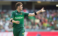 Shaheen Afridi (Pakistan) during Pakistan vs Bangladesh, ICC World Cup Cricket at Lord's Cricket Ground on 5th July 2019