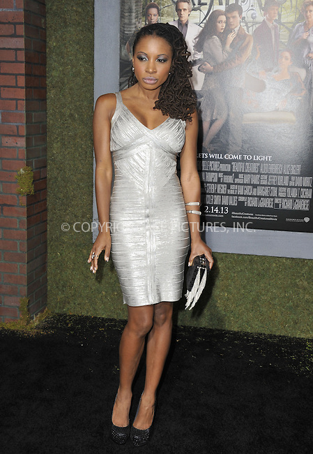 WWW.ACEPIXS.COM....February 6 2013, LA....Shanola Hampton arriving at the Los Angeles premiere of 'Beautiful Creatures' at TCL Chinese Theatre on February 6, 2013 in Hollywood, California.....By Line: Peter West/ACE Pictures......ACE Pictures, Inc...tel: 646 769 0430..Email: info@acepixs.com..www.acepixs.com
