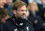 Liverpool Manager Jurgen Klopp before the start of the premier league match at Goodison Park Stadium, Liverpool. Picture date 7th April 2018. Picture credit should read: Robin Parker/Sportimage