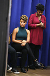 """Ariana Debose during the open press rehearsal for """"A Bronx Tale - The New Musical""""  at the New 42nd Street Studios on October 21, 2016 in New York City."""