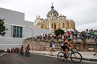 Martin Ulloa of Chile during the 2017 Madrid ITU Triathlon World Cup in Madrid, May 28, 2017. Spain.. (ALTERPHOTOS/Rodrigo Jimenez) /NortePhoto.com