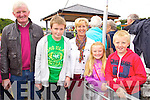 Denis, David, Geraldine, Aisling and Conor Hennessy (Beale) pictured at Ballyheigue Pattern day on Sunday.