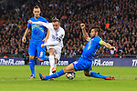 Wayne Rooney of England gets a shot blocked - England vs. Slovenia - UEFA Euro 2016 Qualifying - Wembley Stadium - London - 15/11/2014 Pic Philip Oldham/Sportimage