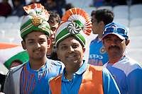 The Indian fans out in force during India vs New Zealand, ICC World Cup Warm-Up Match Cricket at the Kia Oval on 25th May 2019