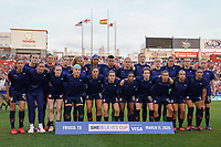11th Mach 2020, Frisco, Texas, USA;  Full team photo of the USA during the 2020 SheBelieves Cup Womens International Friendly, football match between USA Women versus Japan Women at Toyota Stadium in Frisco, Texas, USA.