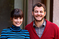 "L'attore Alessandra Mastronardi e l'attore Alessandro Cattelan posano durante un photocall per la presentazione del film ""Ogni maledetto Natale"" a Roma, 19 novembre 2014.<br /> Italian actress Alessandra Mastronardi and actor Alessandro Cattelan pose during a photocall for the presentation of the movie ""Ogni maledetto Natale"" in Rome, 19 november 2014.<br /> UPDATE IMAGES PRESS/Riccardo De Luca"