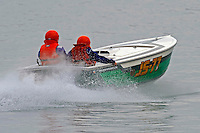 "JS-77 ""Zippy Pickle"", Jersey Speed Skiff..10-12 July, 2009, 100th Gold Cup, Detroit River, Detroit, MI USA..©2009 F.Peirce Williams, USA."