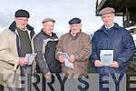 HOPING: Hoping their dog will qualifiy for the Lee Strand Kingdom Cup at the Kingdom Coursindg on Sunday were the Rogers Family, Finton,Jack,Nathan and Ann Marie Rogers, Norm,a and Wyane Enright......... . ............................... ..........