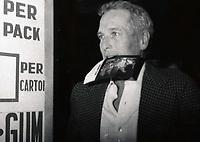 New York City<br /> 1989 <br /> Paul Newman<br /> Photo By John Barrett-PHOTOlink.net/MediaPunch