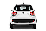Straight rear view of 2017 Suzuki Ignis GL 5 Door Hatchback Rear View  stock images