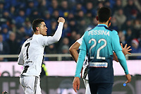 Cristiano Ronaldo Juventus celebrates after scoring draw 2-2 <br /> Bergamo 26-12-2018  Stadio Atleti Azzurri d'Italia <br /> Football Campionato Serie A 2018/2019 <br /> Atalanta - Juventus<br /> Foto Cesare Purini / Insidefoto