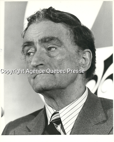 Claude Ryan<br /> <br /> <br /> <br /> PHOTO :  Agence Quebec Presse
