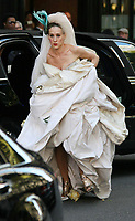Sarah Jessica Parker, filming ''Sex In The City'' 2007<br /> Photo By John Barrett/CelebrityArchaeology.com