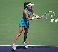 AGNIESZKA RADWANSKA (POL)<br /> <br /> Tennis - BNP PARIBAS OPEN 2015 - Indian Wells - ATP 1000 - WTA Premier -  Indian Wells Tennis Garden  - United States of America - 2015<br /> &copy; AMN IMAGES