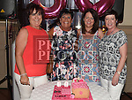 Linda Courtney celebrating her 50th birthday in the Thatch with friends Siobhan Maguire, Jane McGroggan and Regina Johnson. Photo:Colin Bell/pressphotos.ie