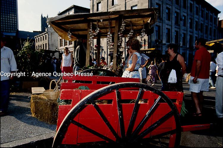Montreal (Qc) CANADA - 1999  File photo -