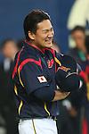 Masahiro Tanaka (JPN), .February 26, 2013 - WBC : .2013 World Baseball Classic, Exhibithion Game .match between Japan 0-1 Hanshin Tigers  .at Kyocera Dome, Osaka, Japan..(Photo by AJPS/AFLO SPORT)