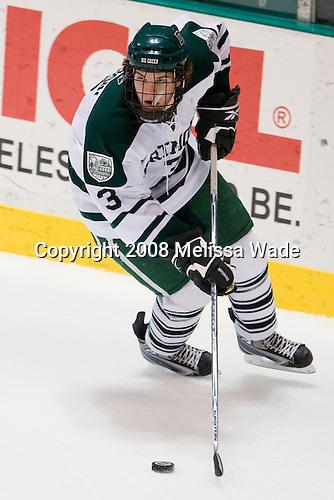 Connor Goggin (Dartmouth - 3) - The Boston College Eagles defeated the Dartmouth Big Green 2-1 (OT) on Sunday, November 30, 2008 at Thompson Arena in Hanover, New Hampshire.