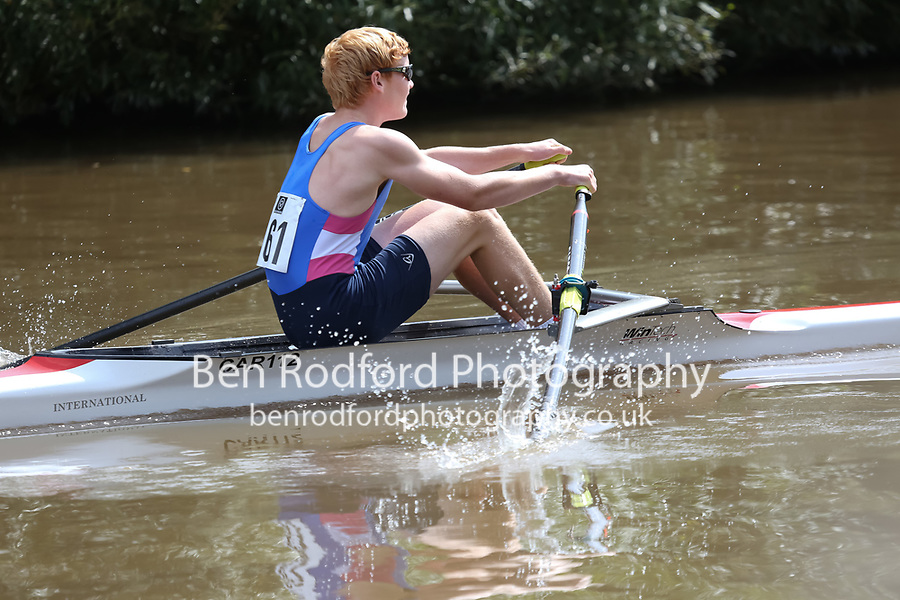 Race: 70: J16A.1x  [161]Cardiff & Vale SRA - CAR-Hadfield vs [162]City of Swansea RC - CSW-Jones<br /> <br /> Gloucester Regatta 2017 - Saturday<br /> <br /> To purchase this photo, or to see pricing information for Prints and Downloads, click the blue 'Add to Cart' button at the top-right of the page.