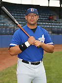 July 14th, 2007:  Anthony Martinez of the Aberdeen Ironbirds, Class-A Short-Season affiliate of the Baltimore Orioles, poses for a photo before a game vs the Jamestown Jammers in New York-Penn League action.  Photo Copyright Mike Janes Photography 2007.