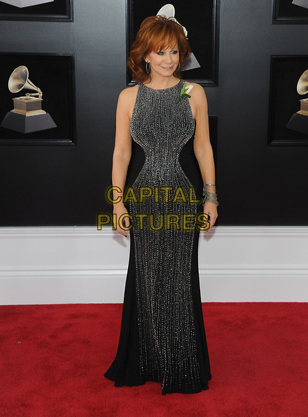 NEW YORK, NY - JANUARY 28: Reba McEntire at the 60th Annual GRAMMY Awards at Madison Square Garden on January 28, 2018 in New York City. <br /> CAP/MPI/JP<br /> &copy;JP/MPI/Capital Pictures