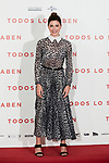 Barbara Lennie attends to 'Todos lo Saben' film photocall at Urso Hotel in Madrid, Spain. September 12, 2018. (ALTERPHOTOS/A. Perez Meca)