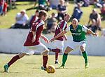 30.06.18 Linlithgow Rose v Hibs: David Gray makes his comeback from injury