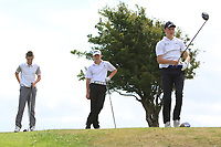 Luis Surgenor (Galgorm Castle) on the 10th tee during the Final round in the Connacht U16 Boys Open 2018 at the Gort Golf Club, Gort, Galway, Ireland on Wednesday 8th August 2018.<br /> Picture: Thos Caffrey / Golffile<br /> <br /> All photo usage must carry mandatory copyright credit (&copy; Golffile   Thos Caffrey)