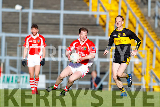Colm Cooper Dr Crokes in action against Padraig Óg Ó Sé West Kerry in the Kerry Senior Football Championship Semi Final at Fitzgerald Stadium on Saturday.