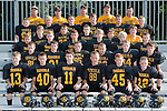 August 25, 2013- Tuscola, IL- The 2013 Tuscola JFL Heavyweights. Front row from left are Blake Schultz, Noah Pierce, Dalton Hoel, Lucas Sluder, Will Little, and Dalton Grover. Second row from left are Chris Otto, Cameron Ochs, Bradly Mast, Hunter Hutcherson, Cale Sementi, and Haden Cothron. Third row from left are J.D. Barrett, Cade Morgan, Kevin Miller, Cade Kresin, Gage Russell, and Zachery DeVore. Fourth row from left are Turner Hastings, Caleb Stumeier, Nathan Pearce, Cole Robinson, Anthony Smith. Fifth row from left are C.J. Picazo, Andrew Erickson, Dakota Denny, Hunter Woodard, Brayden VonLanken, and Dalton Conner. Top row from left are Rich Erickson, Ben Sluder, Lance Little, Josh Ochs, and Larry Morgan. [Photo: Douglas Cottle]