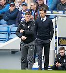 07.04.2018 Rangers v Dundee:<br /> Neil McCann