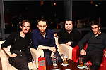 Gary Toner, Nick Manning, Noel Traynor and Niall Seery out for the night in Bru..Picture: Shane Maguire / www.newsfile.ie.
