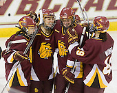 - The University of Minnesota-Duluth Bulldogs defeated the Boston College Eagles 3-0 on Friday, November 27, 2009, at Conte Forum in Chestnut Hill, Massachusetts.